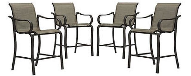 Jaclyn Smith Marion 4-Piece Dining Chairs $185.00 (kmart.com)