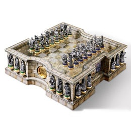 What Lord of the Rings fan wouldn't want this collector's chess set?