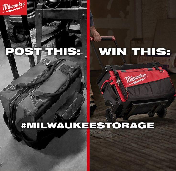 Πάρτε μέρος στο διαγωνισμό της Milwaukee Electric Tool Corporation για να κερδίσετε την τέλεια τσάντα για τα εργαλεία σας.... Ανεβάστε μια φωτογραφία της παλιάς σας τσάντας @MilwaukeeTool στο Twitter και βάλτε και #MILWAUKEESTORAGE https://twitter.com/MilwaukeeTool/status/827303777371832320
