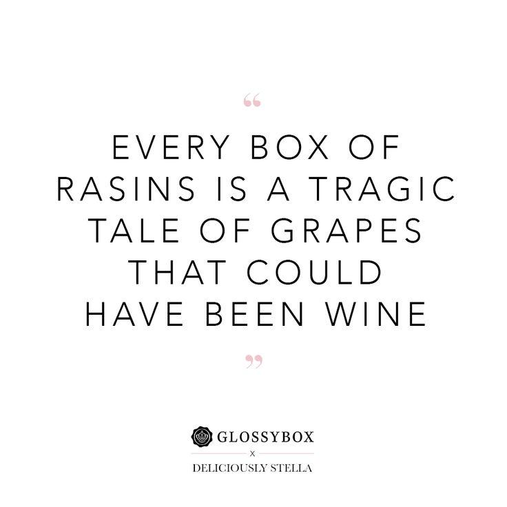 #GlossyboxUK #Wine #Qotd