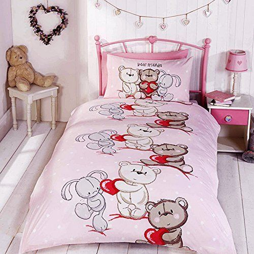 Best Friends Childrens/Girls Official Single Duvet Cover Bedding Set (Twin) (Multicolored) //Price: $9.01 & FREE Shipping //     #bedding
