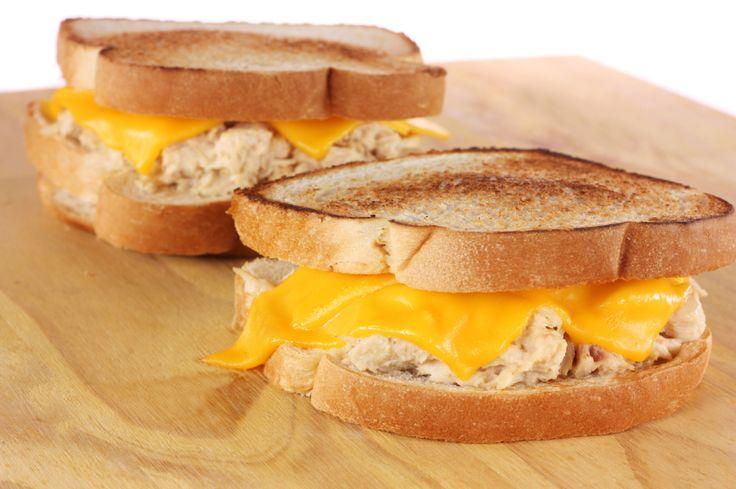 Toasted Tuna Sandwich