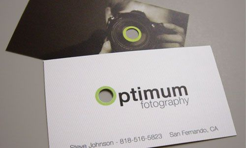 40 magnificas tarjetas de visita para fotografos #inspiration #design #businesscard