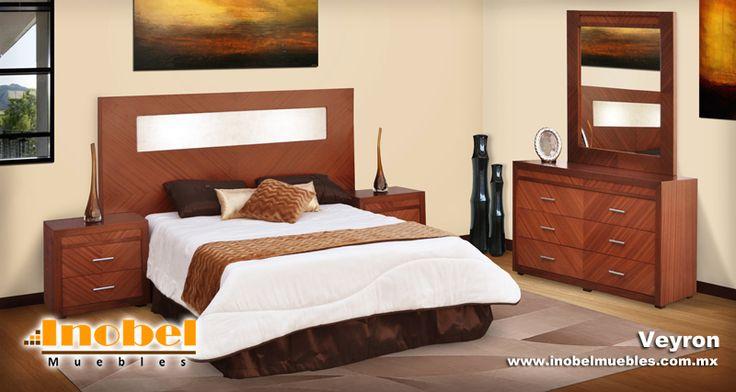 Recamara moderna estilo minimalista consta de cabecera for Recamaras con cabecera tapizada