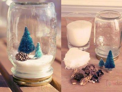 Manualidades de Navidad: Bola de Cristal Navideña - Manualidades Gratis