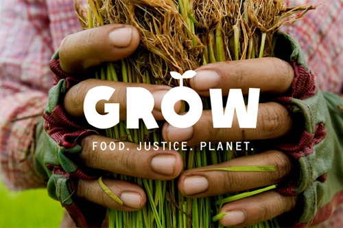 Oxfam's GROW campaign: building a better food system; one that sustainably feeds a growing population and empowers poor people to earn a living, feed their families, and thrive.
