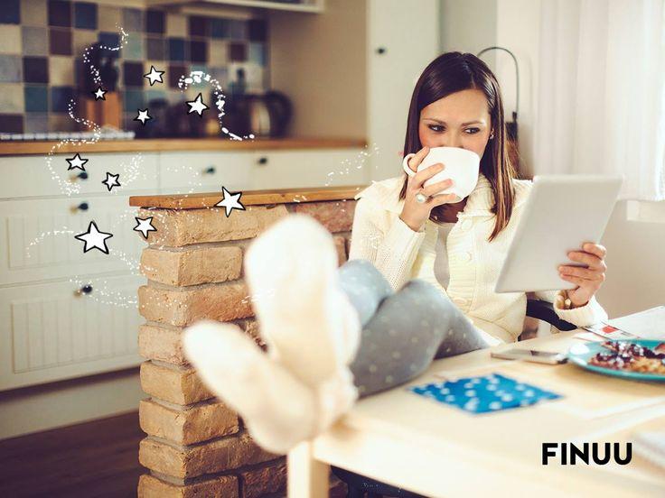 Niedziela to idealny czas na rytuał, który jest fińską tradycją, w każdym domu! Jaką kawę lubicie pić najbardziej? :) ☕ ☕ #finuu #slowlife #coffee #kawa #inspiracje #house #finland #finlandia