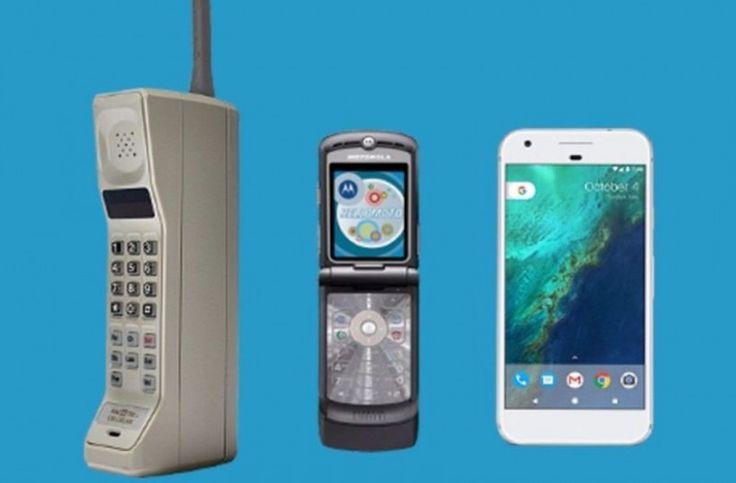 Ταξίδι στο παρελθόν: Πώς άλλαξαν τα κινητά τηλέφωνα μέσα σε 40 χρόνια! (βίντεο)