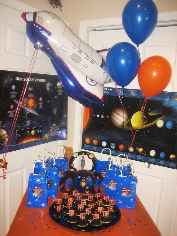 10 best images about party table decor on pinterest hanging decorations thomas the tank and - Solar system decorations ...