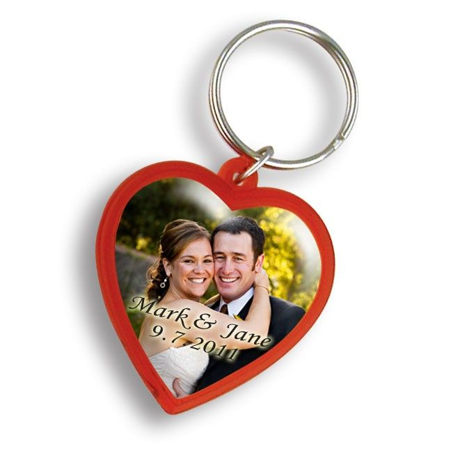Personalized Red Heart Custom Keychain WAUCUST22WED  http://woodartsuniverse.com/catalog/product_info.php?products_id=742  #freeshipping #sale
