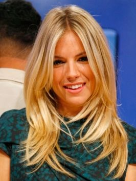 Pictures : Sienna Miller Hairstyles - Sienna Miller Long Layered Hairstyle