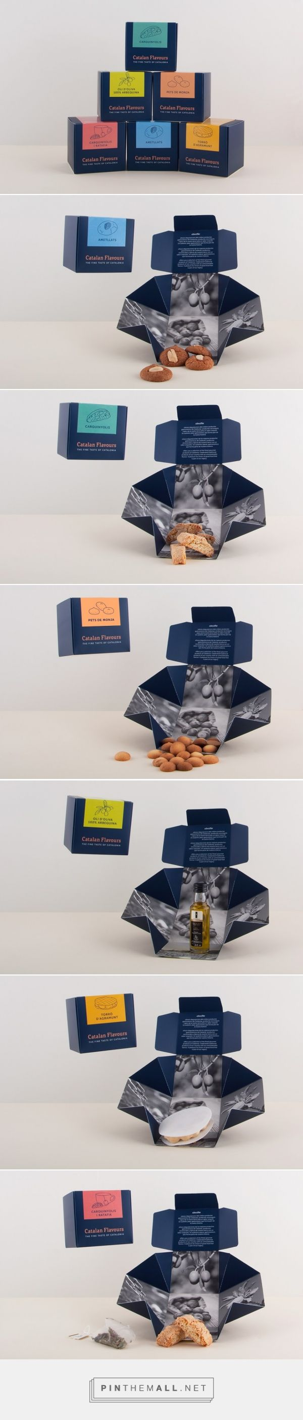 Catalan Flavours - Packaging of the World - Creative Package Design Gallery - http://www.packagingoftheworld.com/2016/05/catalan-flavours.html