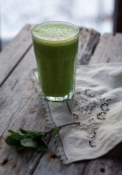 Smoothie vert aux poires, oranges & sirop d'érable - Recette | Trois fois par jour