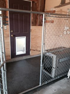 Dog Kennel In Garage Google Search Pet Stuff Pinterest Dogs Houses And Pets