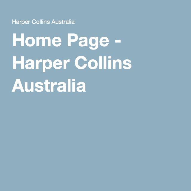 Home Page - Harper Collins Australia