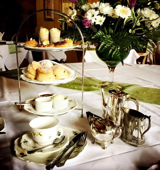 'A Touch of Class' afternoon tea at Eastwell Manor on the last Friday of every month.