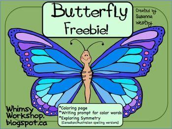 First Grade Butterflies on Monarch Erfly Worksheets