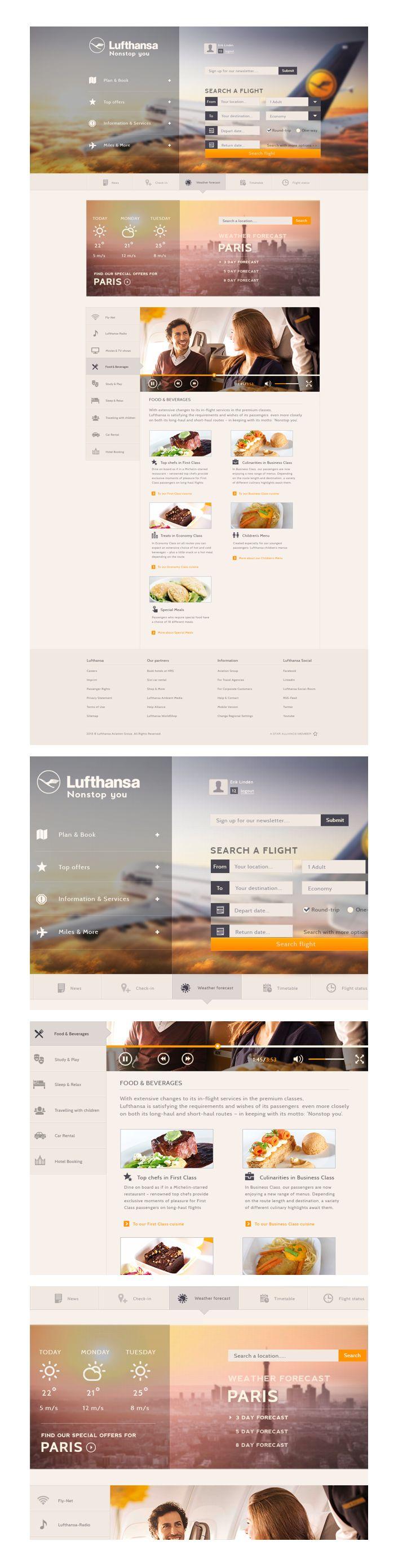 Lufthansa Concept on Behance