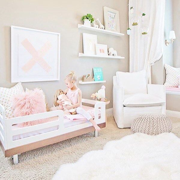 Dream room with our classic toddler bed @oeufnyc