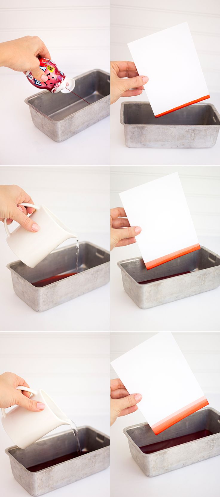 Kool Aid Dipped Stationary, for a #DIY that's totally... kool. #forgiveus