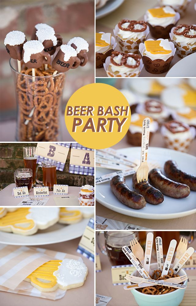 Beer Bash Party! The hubby would love this!