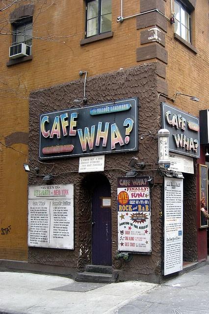 NYC - Greenwich Village: Cafe Wha? New York City, NY