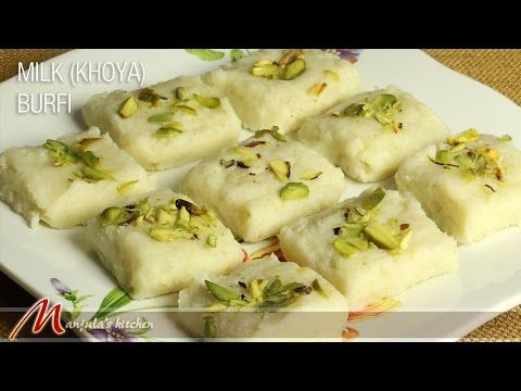 91 best indian dessert recipes images on pinterest indian veg milk khoya burfi indian dessert recipe by manjula youtube forumfinder Gallery