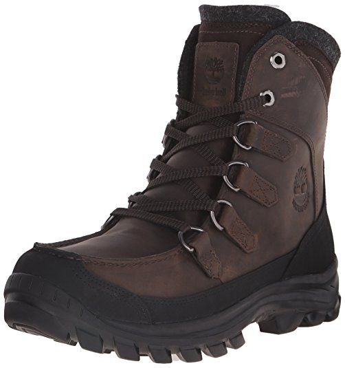 Timberland Men's Chillberg Tall Insulated Boot,Brown,10.5 M US