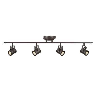Aspects Studio 4-Light Oiled Rubbed Bronze Dimmable Fixed Track Lighting Kit-STUF430030LRB at The Home Depot