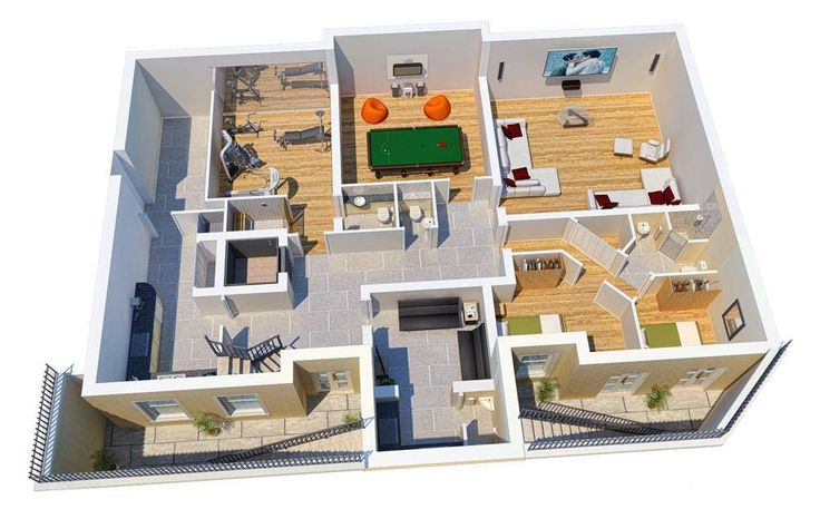 Small Basement Apartment Floor Plans
