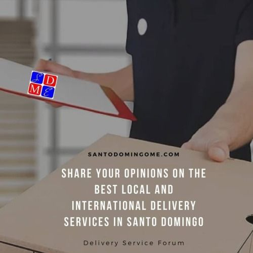 Share your delivery experiences in Santo Domingo www.SantoDomingoME.com/forum/delivery-services #santodomingo #rd #delivery #shipping #republicadominicana #santodomingord #dominican #dominicanrepublic #dominicana #deliveryrd #bmcargo #colmapp