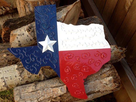 TEXAS Flag Decor  16  Handmade Indoor/Outdoor Porch
