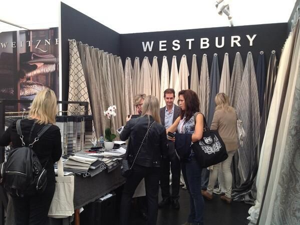 It's the last day of #Decorex 2013 - have you been down yet? #fabric #interiordesign #interiors
