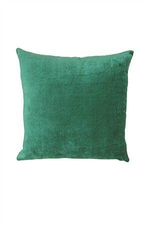 Mulberi Cushion Majestic Velvet Turquoise