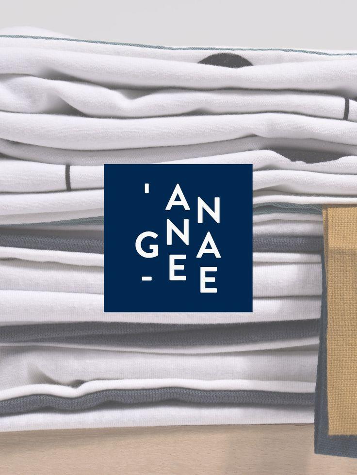 Uniek en minimalistisch branddesign voor creatieve studio Annagee. Huisstijl en op-maat wordpress webdesign. | studio OCHER | #branding #branddesign #logo