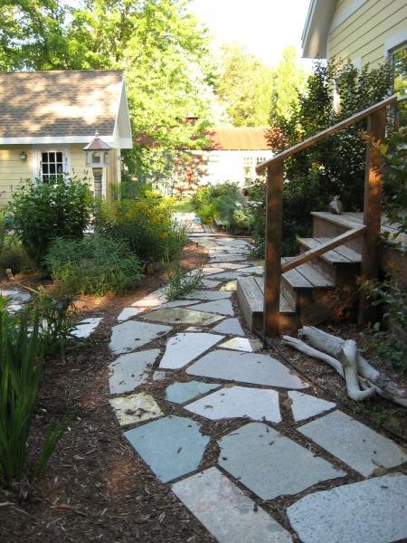 Granite remnant pathway