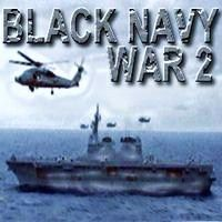 """Play """"Black Navy War 2"""" game online. ( strategy, defense, warships, helicopters, Army, destroy, simulation game, naval war game, enemy forces, Battle, submarines, base, flagship, best naval battle, best war games )."""