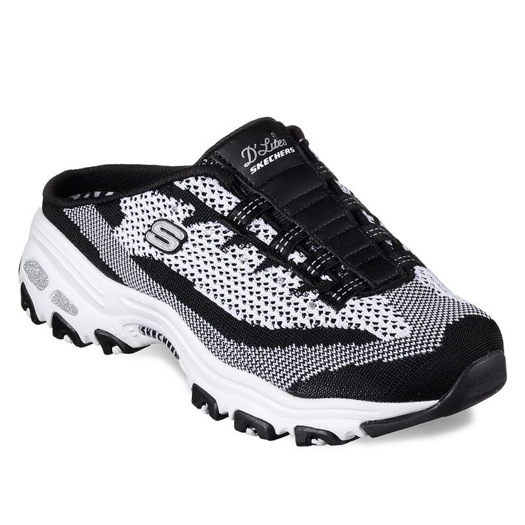 Skechers D'Lites A New Leaf Women's Sneakers, Size: 8.5, Grey (Charcoal)