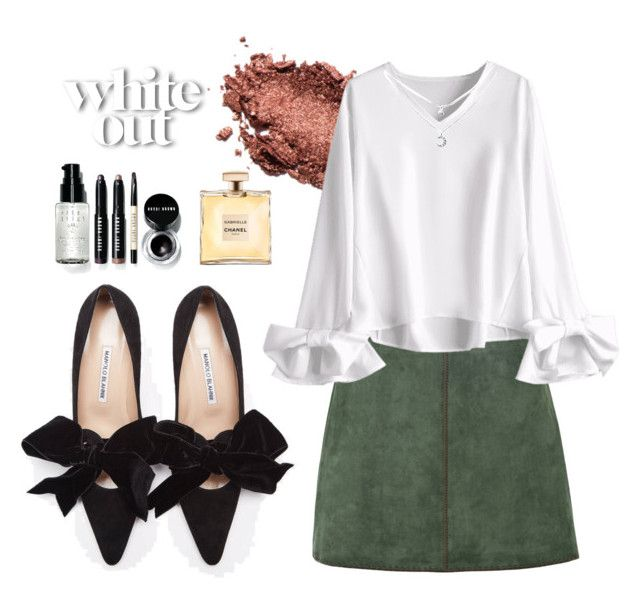 """""""White out"""" by mermaidmood on Polyvore featuring mode, George J. Love et Bobbi Brown Cosmetics"""