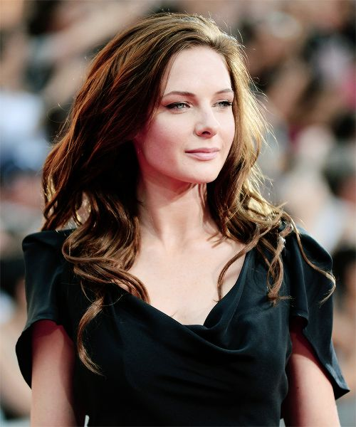 Rebecca Ferguson at the Mission: Impossible - Rogue Nation premiere in New York