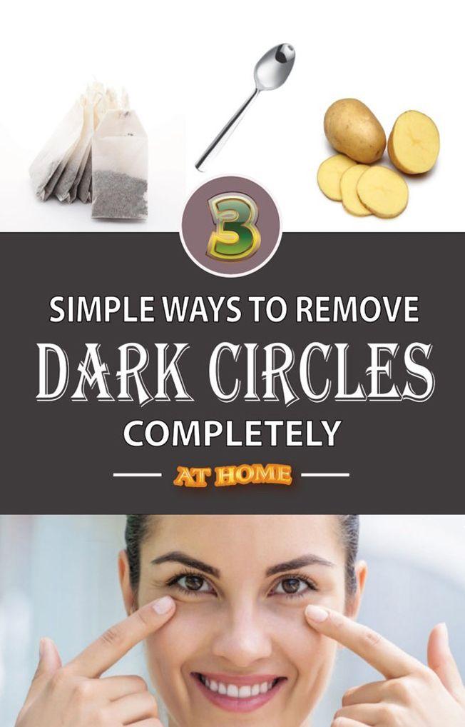Natural Way To Eliminate Under Eye Dark Circles