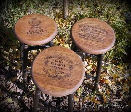 14 Best Images About Wooden Bar Stools On Pinterest