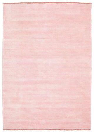 Handloom fringes - Roze tapijt CVD5311 140x200 - Betaalbare kleden op RugVista