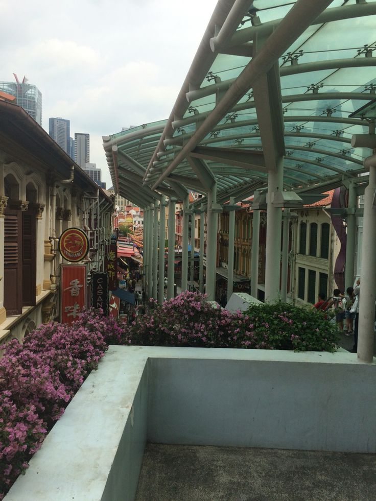China town in Singapore