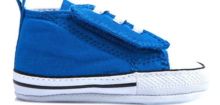 CONVERSE - Βρεφικά παπούτσια Chuck Taylor μπλε-ραφ #style #fashion #moda