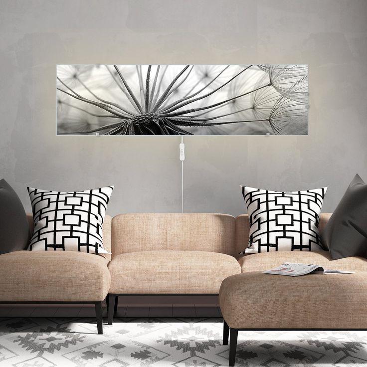 Lovely Motivscheibe f r IKEA Wandleuchte Gyllen im Querformat mit Motiv Ready For Takeoff Amazon