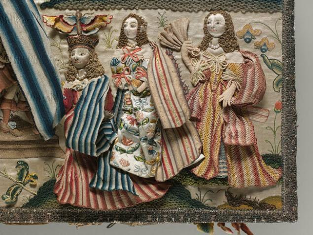 Английская объемная вышивка  #embroidery