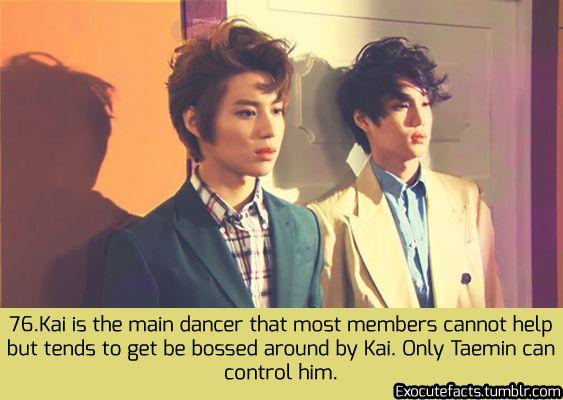 Exo Facts Taemin and Kai ♥