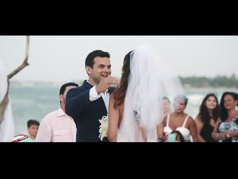 Wedding in Dominican Republic - YouTube NEW Photo !!!! It was a very beautiful day. All day we were laughing, joking, and having fun! See the whole gallery in: http://www.pinkfilm.org/ # wedding # trashthedress # honeymoonsession # couplesession # puntacanaweddingphotographer #dominicanrepublicphoto # dominicanrepublic # puntacanaphoto # honeymoon