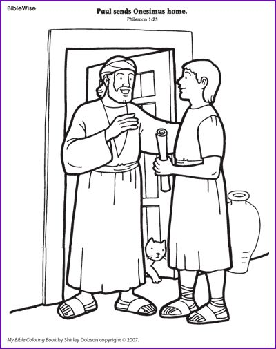 biblewise coloring pages - photo#16